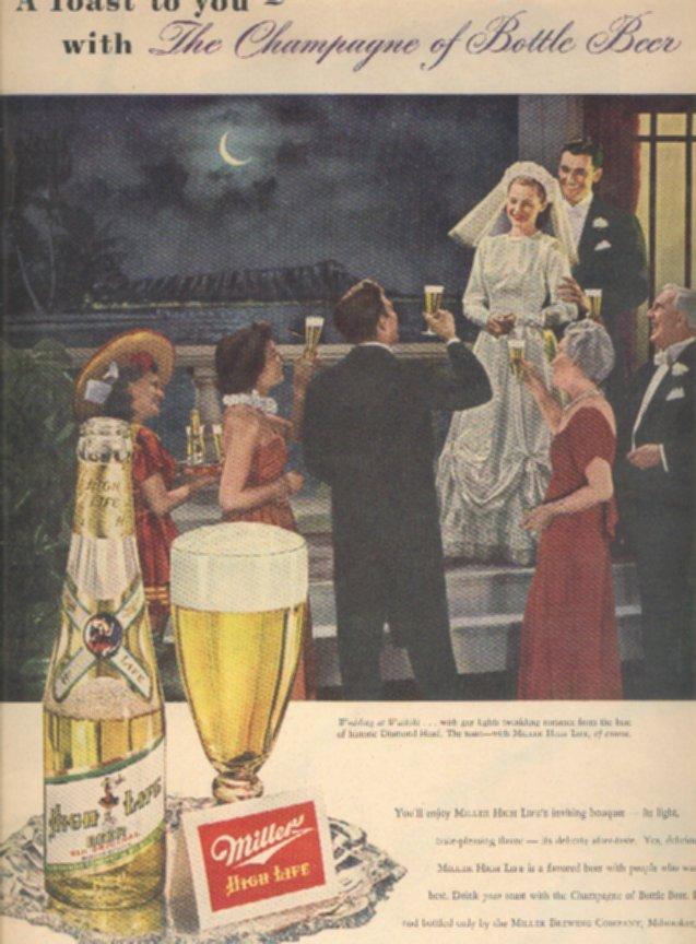 Miller beer ads