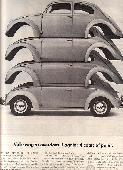 VW Bug ads